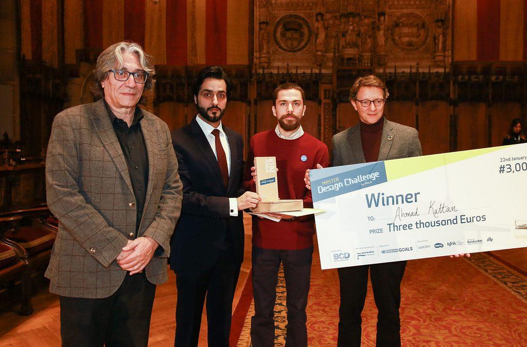 Ahmad Alkattan от ОАЕ е победител в световния финал на Roca Master Design Challenge